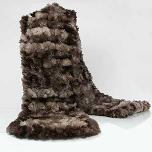 Buy Sheared Beaver Fur Scarfs