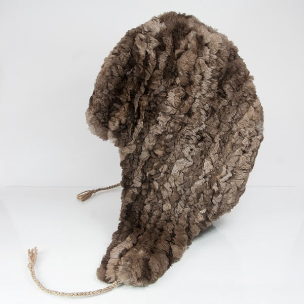 Classic Brown Sheared Beaver Helmet Hat